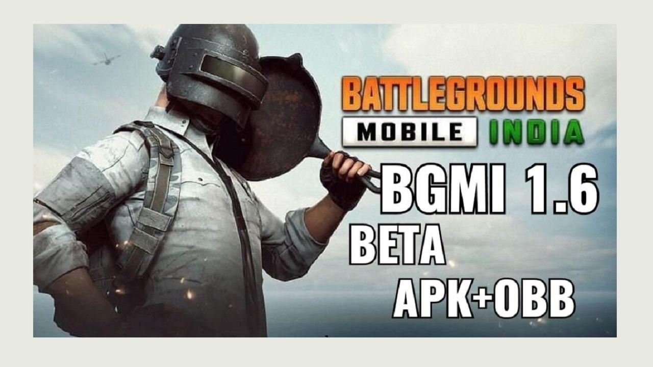 BGMI 1.6 update APK+OBB file direct link download