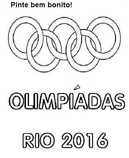 Professora Andrea Roberta Aneis Olimpicos Texto Desenho Para