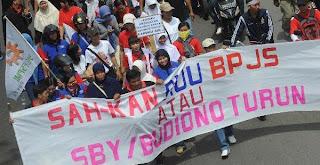 Peringatan dini bagi Presiden Susilo Bambang Yudhoyono dan DPR