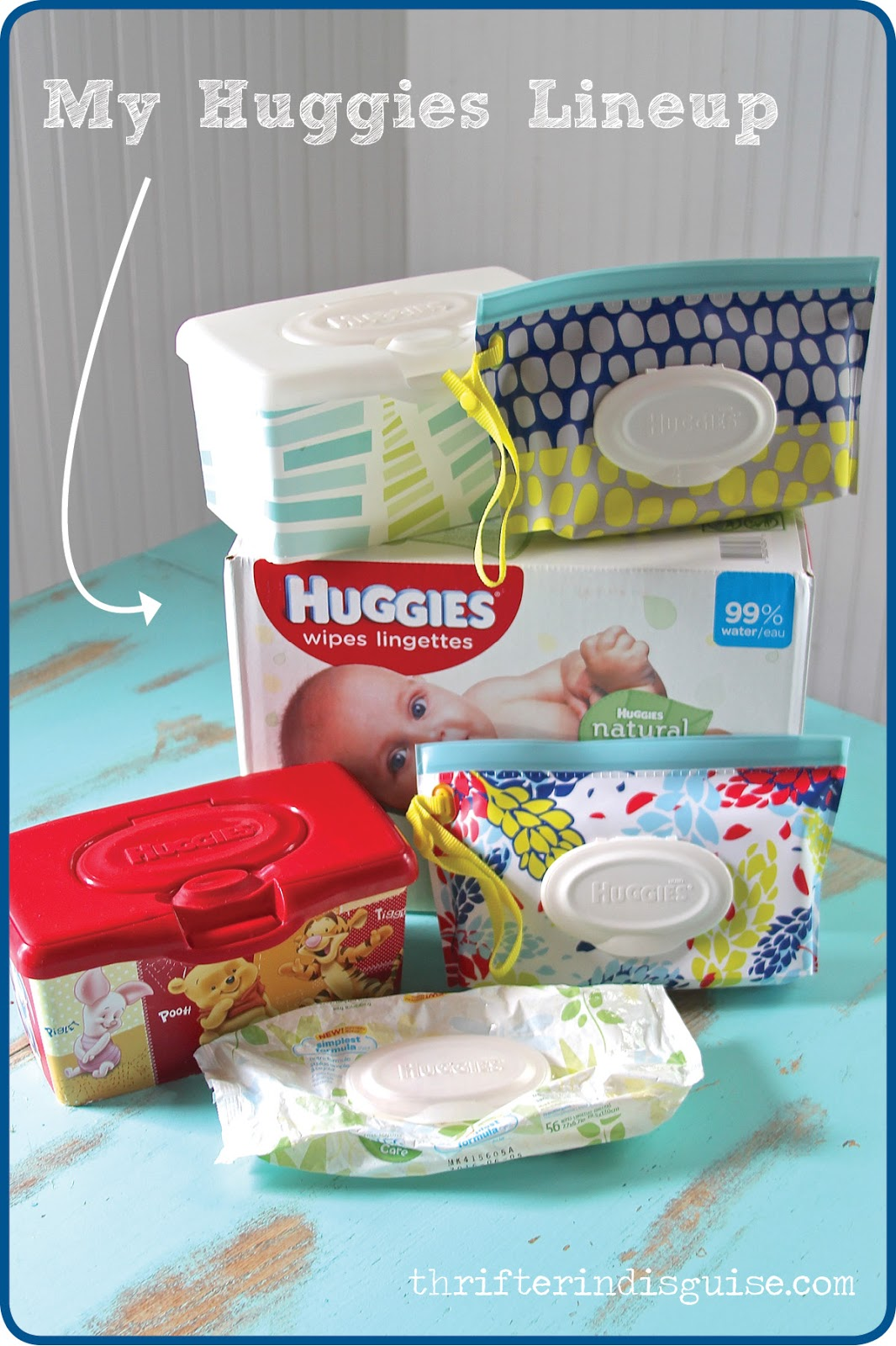 A Thrifter In Disguise Huggies Triple Clean Wipes Have