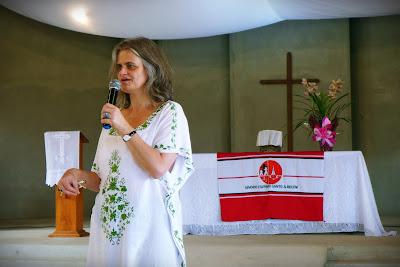 Pa. Romi Márcia Bencke assessorou X Seminário Sinodal de Formação de Lideranças da JE