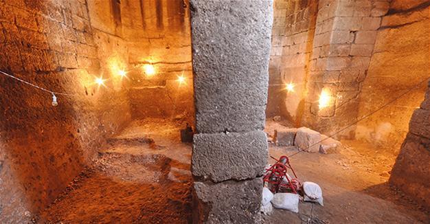Δάρας Μεσοποταμίας ,βρέθηκε βυζαντινή κιστέρνα του 6ου αιώνα