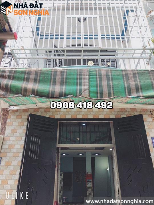 Nhà Gò Vấp đường Huỳnh Văn Nghệ phường 12