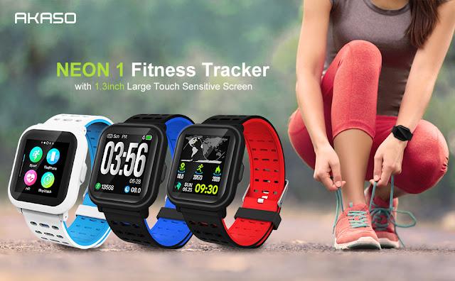 AKASO Smart Watch Fitness Tracker HR