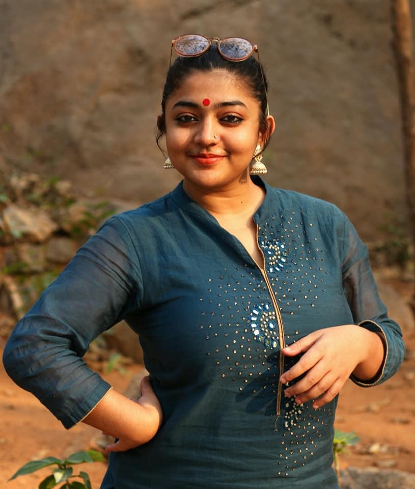 Malayalam Actress Arundhathi B Latest Images - Hot Actress-6008