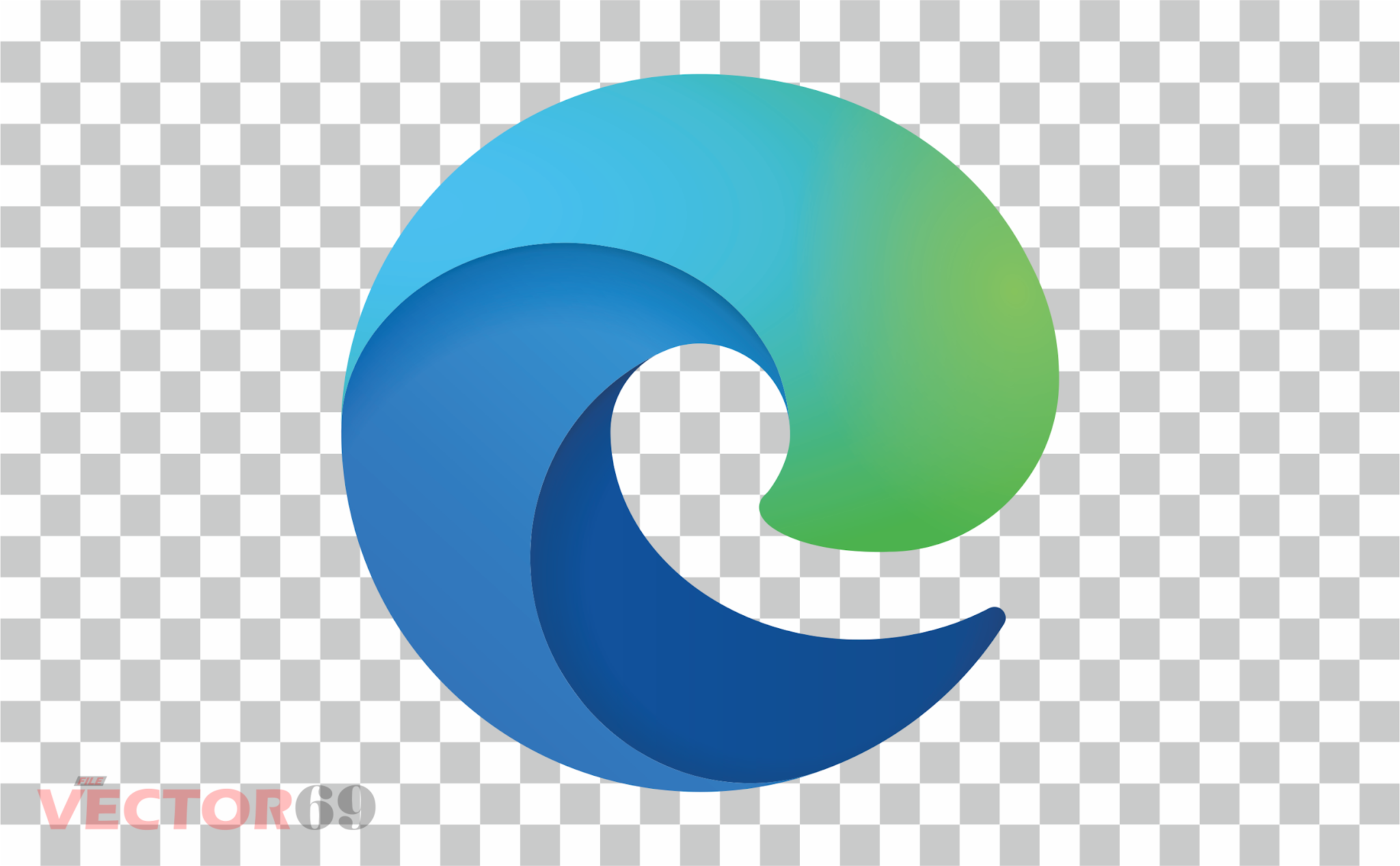 Microsoft Edge New 2020 Logo - Download Vector File PNG (Portable Network Graphics)