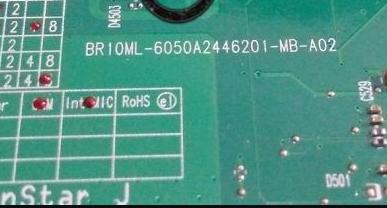 6050A2446201-MB-A02 TOSHIBA C600 BR10ML Laptop Bios