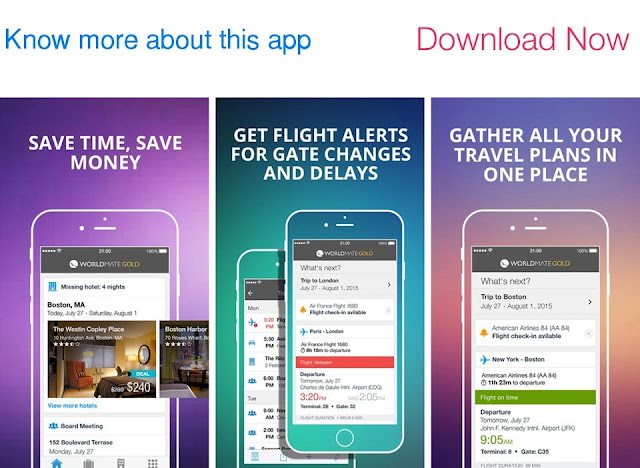 Download WorldMate for iOS