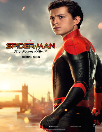 Spider Man Far From Home (2019) Dual Audio Hindi 720p HDTS x264 1GB Movie Download