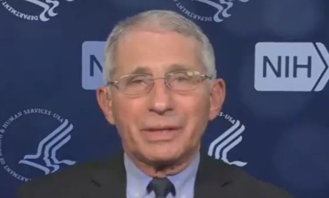 VIDEO: Fauci Can't Explain Why COVID Cases Dropped In Texas