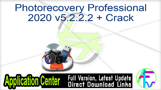 Photorecovery Professional 2020 v5.2.2.2 + Crack