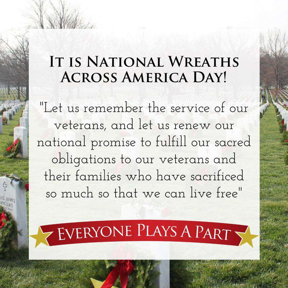 National Wreaths Across America Day Wishes Images download