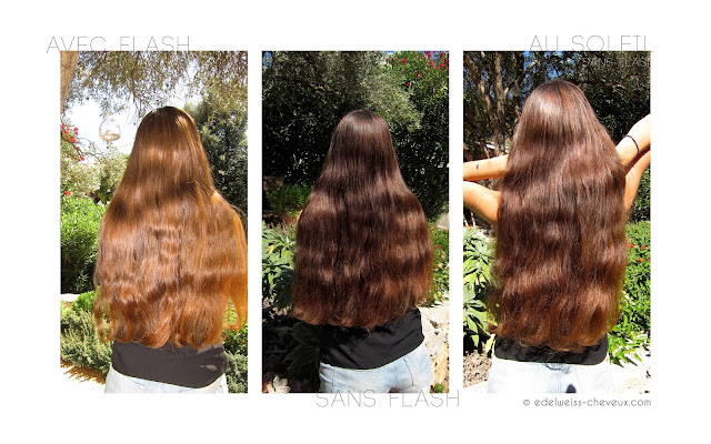 soin des cheveux longs au naturel miel beurre de cacao glycérine végétale