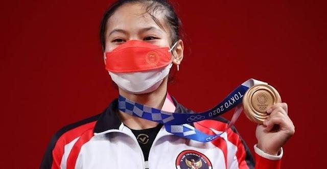 Sosok Sang Peraih Medali Pertama Untuk Indonesia Di Olimpiade Tokyo