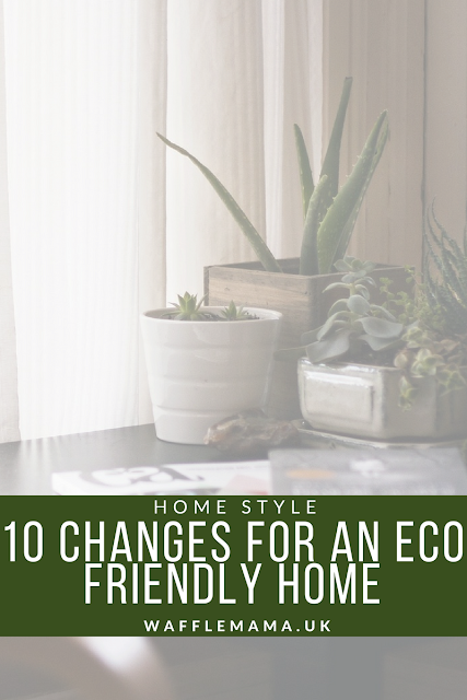 Eco friendly changes for the home - make your home more environmentally friendly