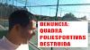 VÍDEO DENUNCIA: Ex-secretário de esportes, mostra a situação de quadra poliesportivas de Salobro