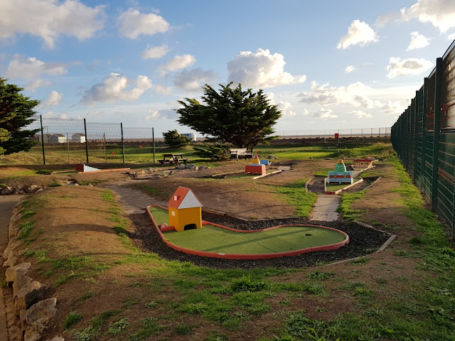 Crazy Golf at the MiniLinks in Lytham St Annes