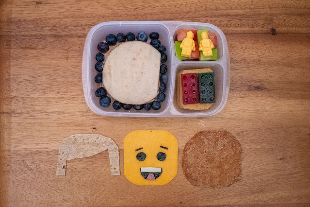 How to Make a LEGO Brick and Minifigure Food Art Lunch!