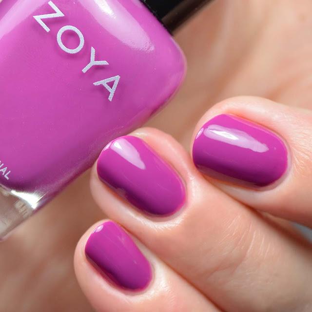 magnolia purple nail polish