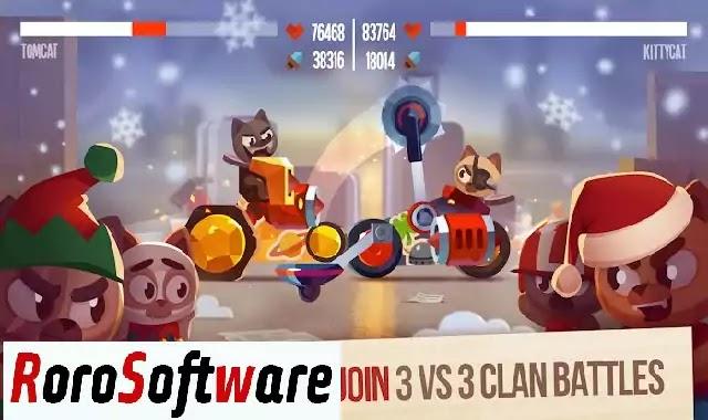 تنزيل لعبة CATS: Crash Arena Turbo Stars مهكرة اخر اصدار
