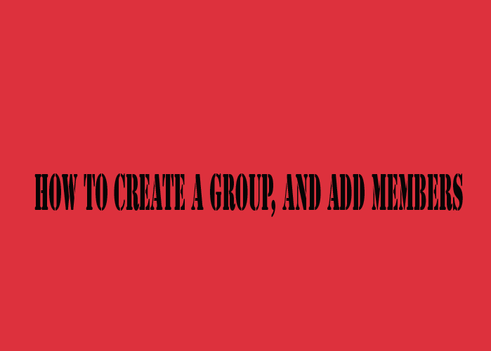 How to create a group, and add members on imo - Guide For imo