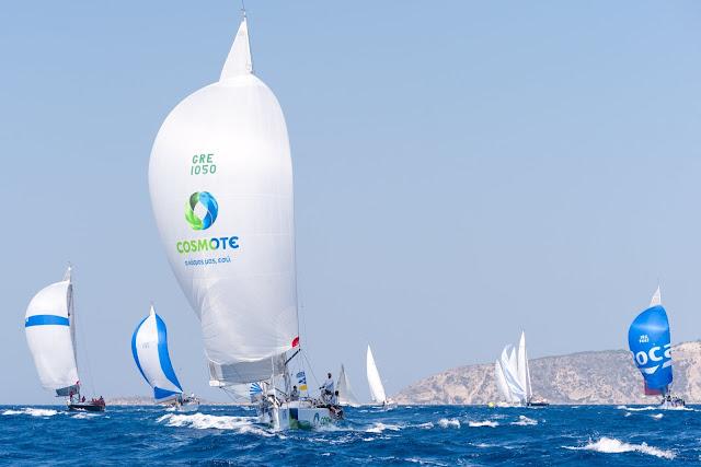 Με πλήθος συμμετοχών ολοκληρώθηκε η 17η Aegean Regatta με τη στήριξη της COSMOTE (βίντεο)