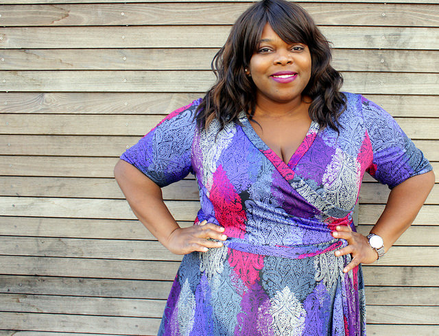 dc plus size style fashion blogger