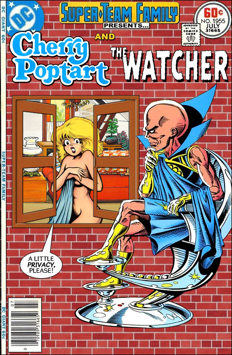 super team family the lost issues cherry poptart and the watcher