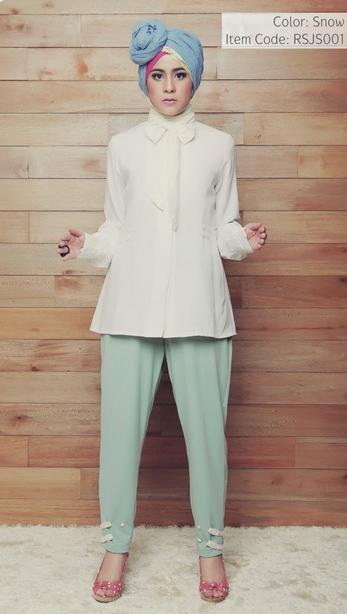 Model Baju Muslim Risty Tagor Terbaru 2015