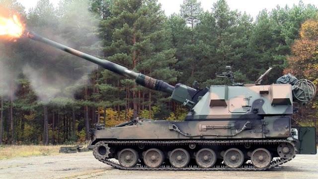 У украинкой армии появится новая самоходная гаубица «Богдана» с натовским калибром