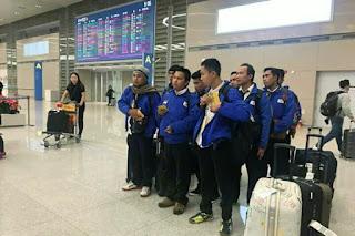 Bahagianya Calon Tenaga Kerja Indonesia tiba di Korea Selatan