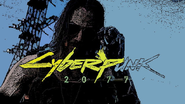 Wallpaper Retro Cyberpunk 2077