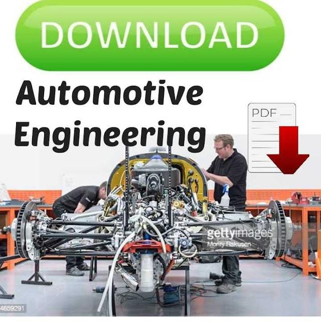 Automobile Engineering books pdf download free