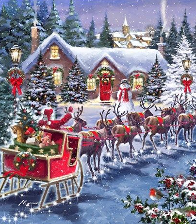 Classic Animated Merry Christmas Images