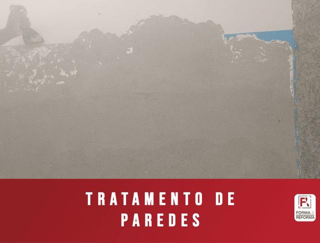 Tratamento de Paredes Reforma RJ