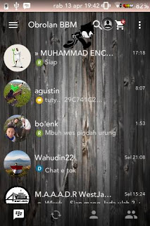 Download BBM MOD Felix Wood versi 2.13.0.26 APK