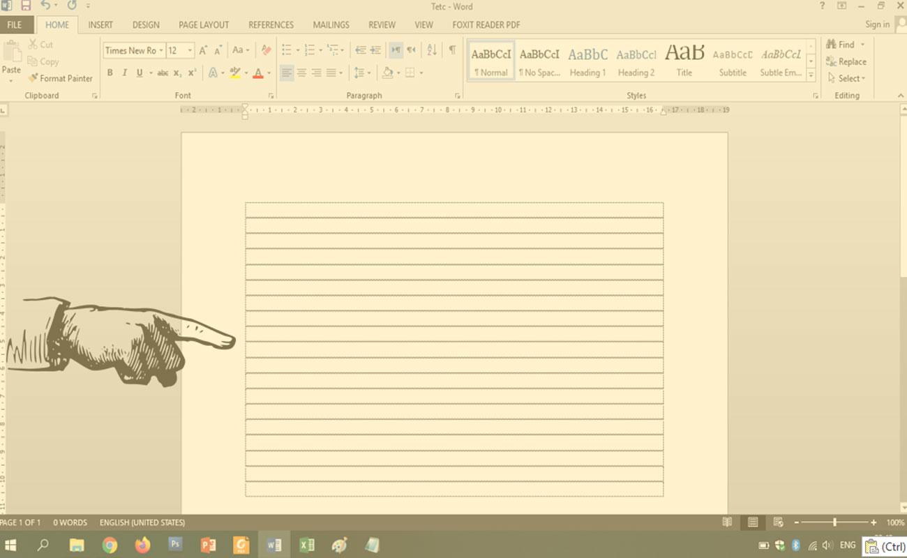 Cara Mudah Menghilangkan Garis Paragraf Pada MS Word 2013
