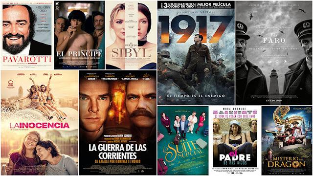 Estrenos cine en España 10 Enero 2020