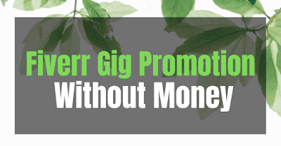 Top Ways Of Fiverr Gig Promotion Without Money: