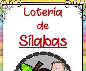 LOTERÍA DE SÍLABAS