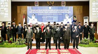 Bupati Jember Definitifkan Jabatan 1212 Pejabat