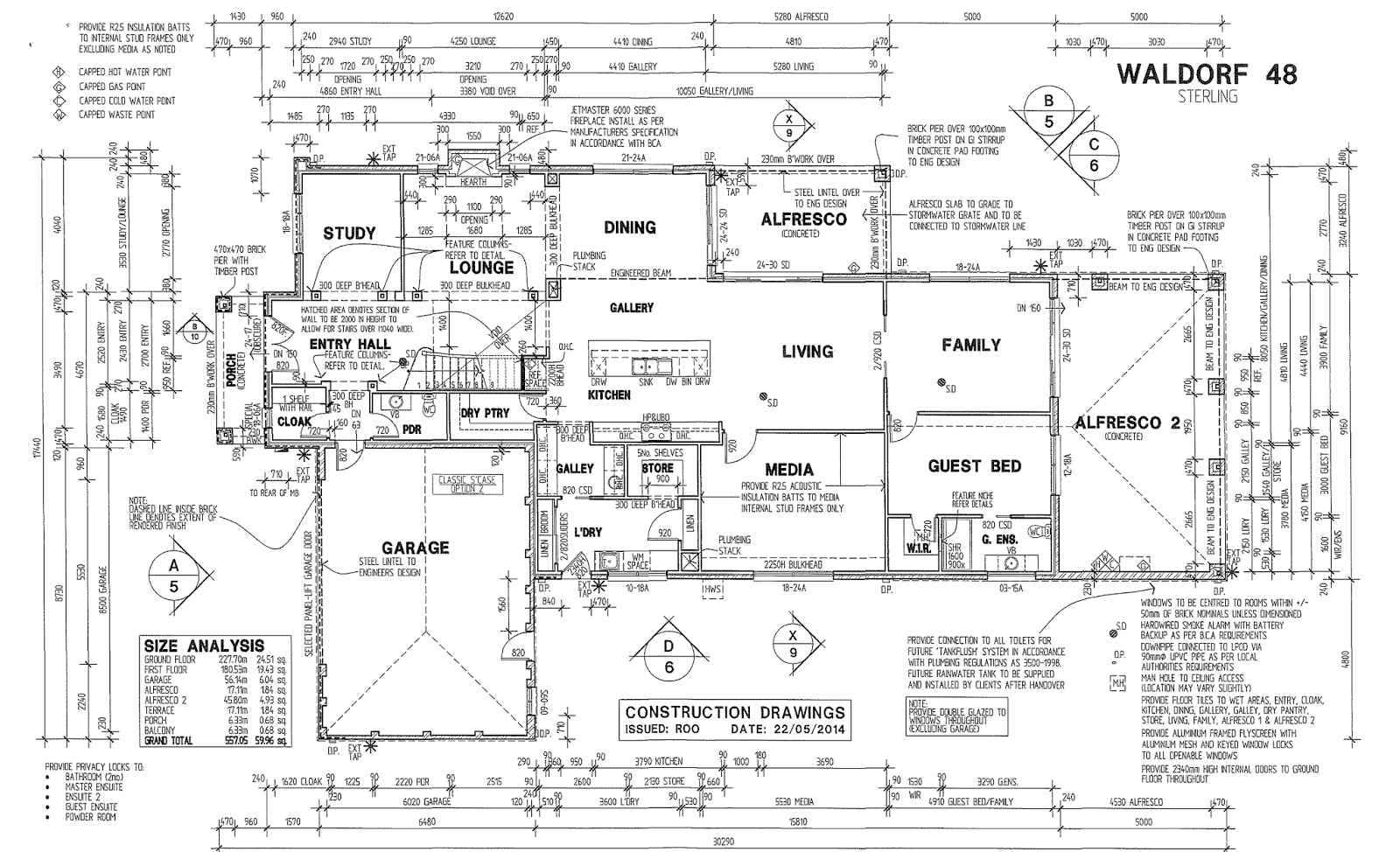 Porter Davis Homes Floor Plans Floor Plan And Elevations Building The Waldorf 48 With