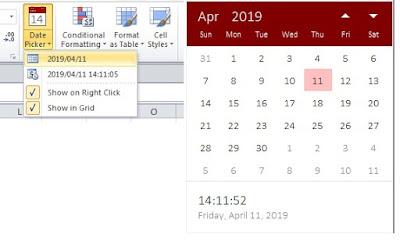 EXCEL ADD-IN DATE PICKER 2020 FREE DOWNLOAD ON EVBA.INFO