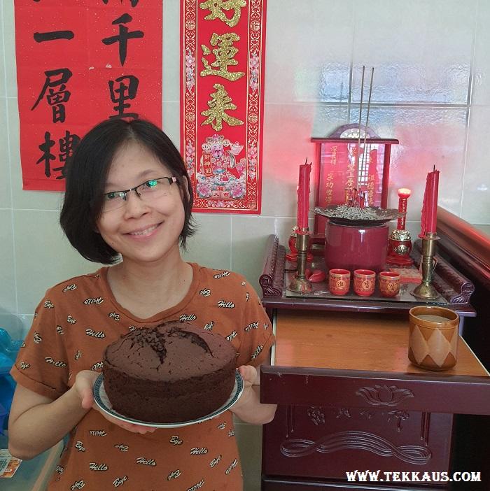 Home baked Chocolate Cake Recipe
