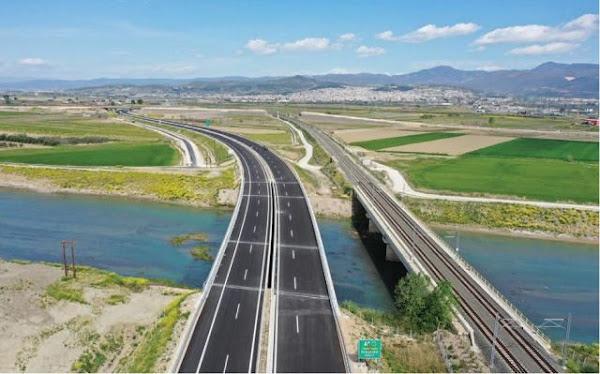 Αυτοκινητόδρομος Ε65: Έτοιμο το τμήμα από Λαμία για Καρπενήσι