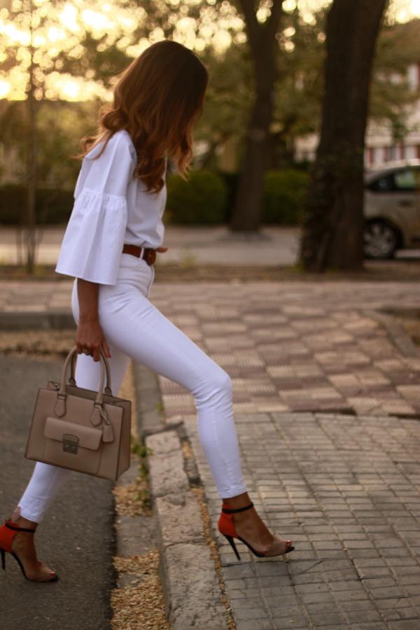 Camisa blanca, look clasico,