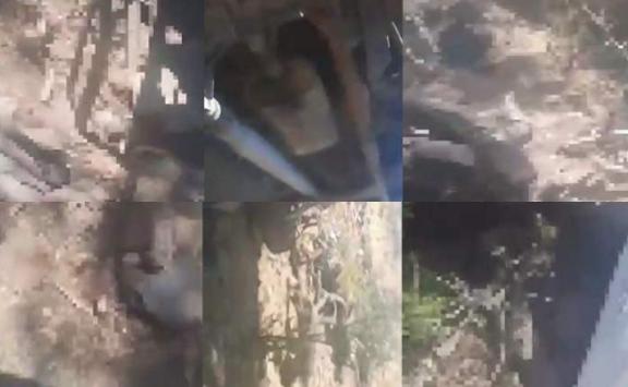 Video: Así quedaron algunos Sicarios tras enfrentamiento entre el CJNG y el Cartel de Sinaloa por Zacatecas