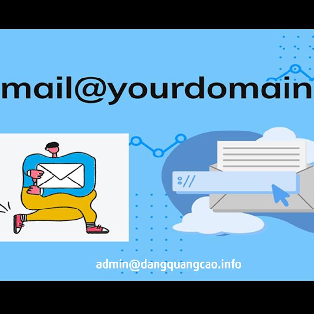 Email domain tên miền riêng của bạn 2020