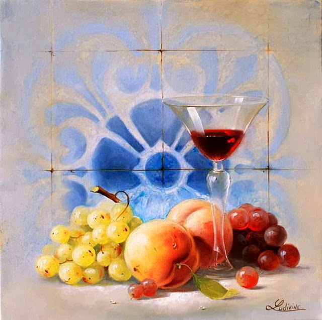 Ludivine Corominas | Still Life Paintings | 1976