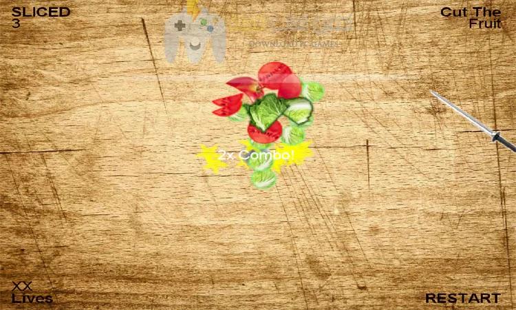 تحميل لعبة تقطيع الفواكه للكمبيوتر من ميديا فاير